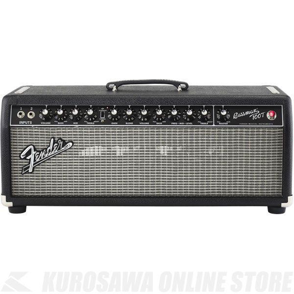 Fender Bassman 100T, 100V JPN, Black 《ベース》(納期未定・ご予約受付中)【ONLINE STORE】
