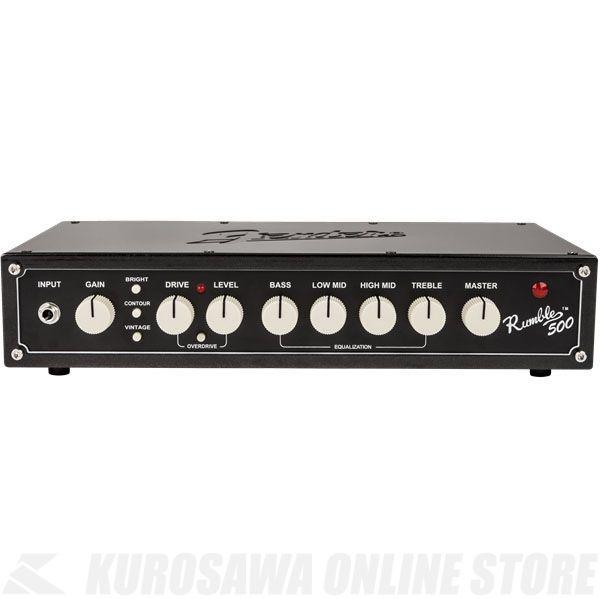 Fender Rumble 500 Head (V3), 100V JPN, Metallic Black 《ベース》【ONLINE STORE】