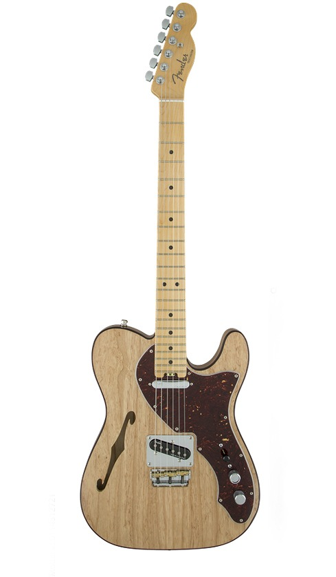Fender USA American Elite Telecaster Thinline, Maple Fingerboard, Natural《エレキギター/テレキャスター》【送料無料】【クロサワ楽器池袋店WEB SHOP】