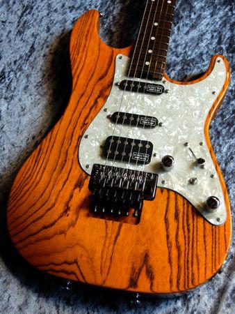 【新品】Schecter EX-4-STD 22 FRT Amber/Rose 【Schecterフラッグシップモデル】【送料無料】【クロサワ楽器池袋店本館3Fハイエンドギターフロア】