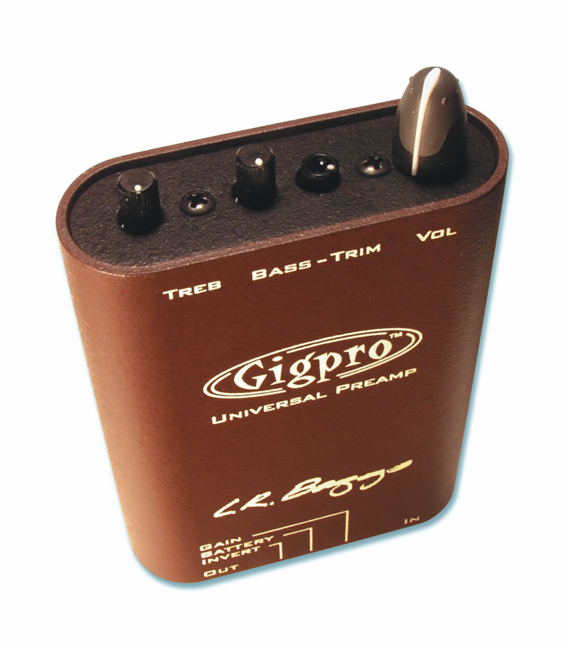 L.R.Baggs Gig Pro 【正規輸入品】《アコースティックギター用ベルトクリッププリアンプ》《エルアールバックス》【送料無料】【クロサワ楽器池袋店WEB SHOP】