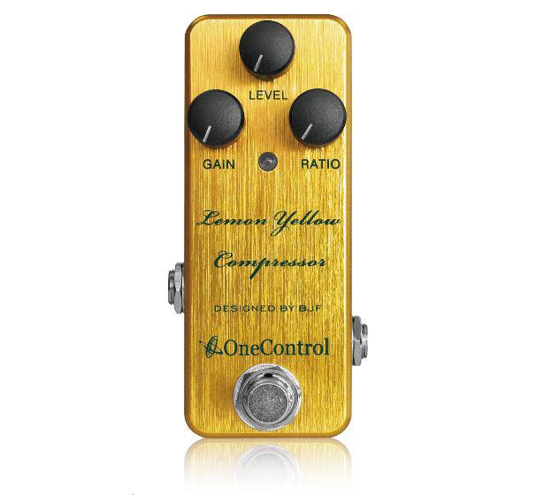 One Control Lemon Yellow Compressor 《エフェクター/コンプレッサー》【送料無料】【クロサワ楽器池袋店WEB SHOP】