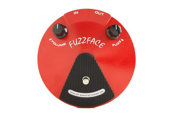 Jim Dunlop JDF2 Fuzz Face《エフェクター/ファズ》 【正規輸入品】【ジムダンロップ】【送料無料】【クロサワ楽器池袋店WEB SHOP】