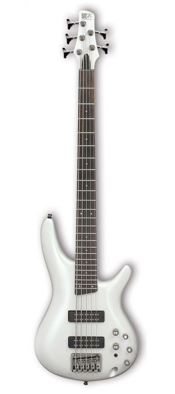 Ibanez SR305E-PW (Pearl White) 《エレキベース/5弦ベース》 【アイバニーズ】【送料無料】【クロサワ楽器池袋店WEB SHOP】
