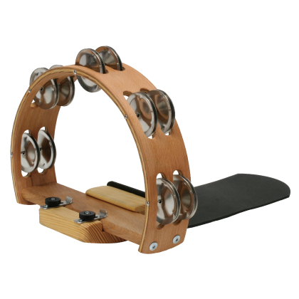 FUSS PERCUSSION FOOT-TAMBOURINE 《フットタンブリン》 【パーカッション】【タンバリン】【送料無料】【クロサワ楽器池袋店WEB SHOP】