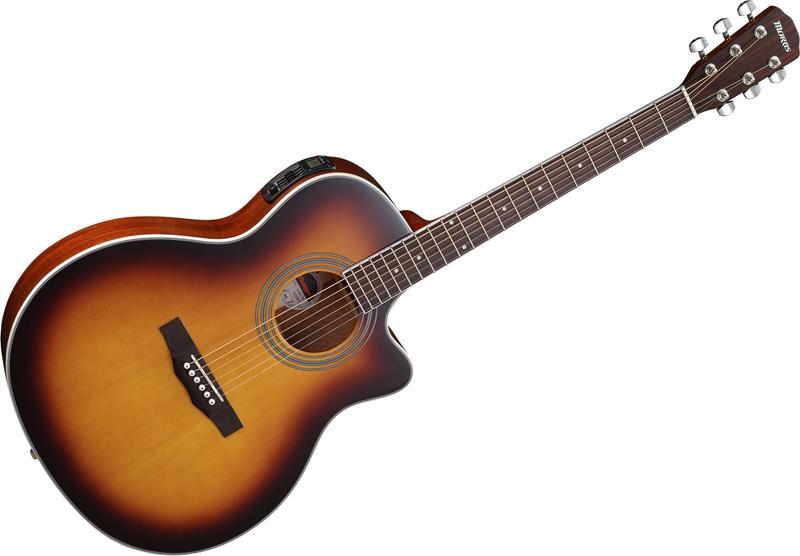Morris R-401 TS(タバコサンバースト)《アコースティックギター》《エレアコ》 【送料無料】【クロサワ楽器池袋店WEB SHOP】