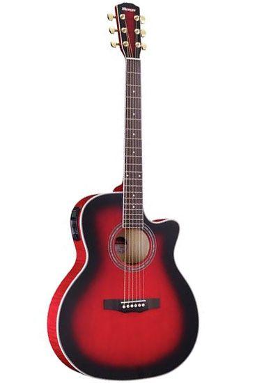 Morris R-601 SRB (シースルーレッドブラックバースト)《アコースティックギター》《エレアコ》 【送料無料】【クロサワ楽器池袋店WEB SHOP】