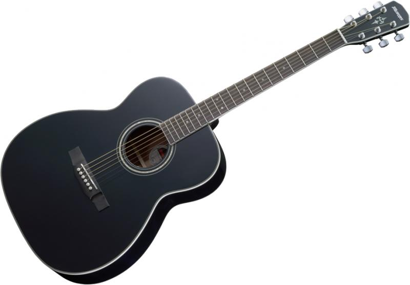 Morris F-351 BLK(ブラック)《アコースティックギター》 【送料無料】【クロサワ楽器池袋店WEB SHOP】