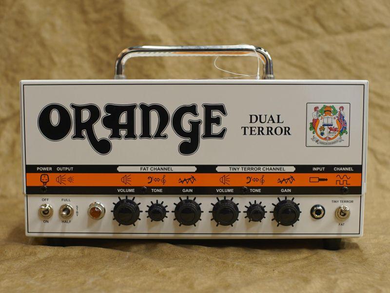 〔新品〕ORANGE〈オレンジ〉Dual Terror [デュアル テラー] [30W]【G'CLUB TOKYO】【エレキギター用アンプヘッド】【送料無料】【smtb-u】