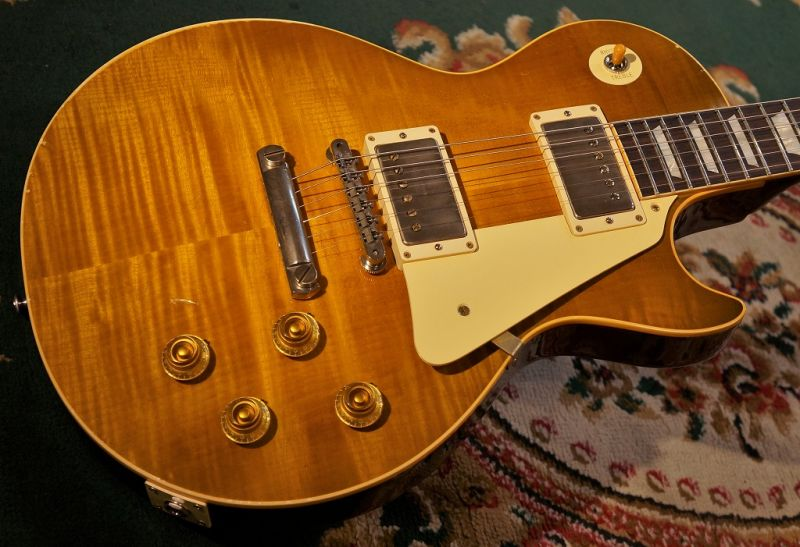 Gibson Custom ShopTrue Historic 1959 Les Paul Reissue Murphy Aged /Vintage Lemon Burst(#96481)【超軽量3.56kg】【G-CLUB TOKYO】【送料無料】【smtb-u】〔ギブソン〕〔レスポール〕