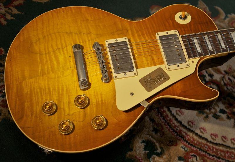 〔新品〕 Gibson Custom Shop 《ギブソン》 TAK MATSUMOTO 1959 LES PAUL Aged s/n 59 TAK 054 [3.83kg]【G-CLUB TOKYO】【送料無料】【smtb-u】〔Electric,エレキギター〕〔レスポール〕