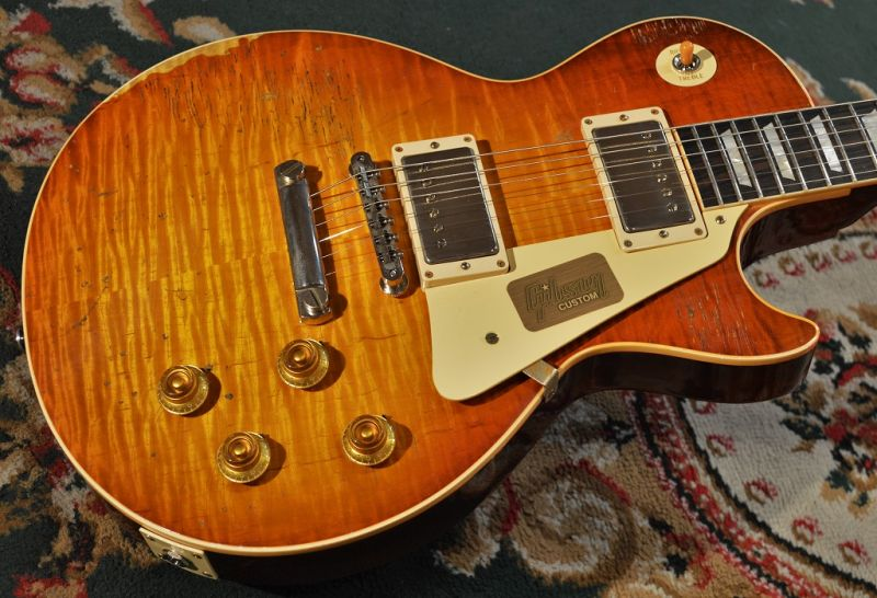 Gibson Custom ShopTrue Historic 1959 Les Paul Reissue Murphy Aged & Ultra Aged/ BOTB P.62(#96789)【軽量3.77kg】【G-CLUB TOKYO】【送料無料】【smtb-u】〔ギブソン〕〔レスポール〕