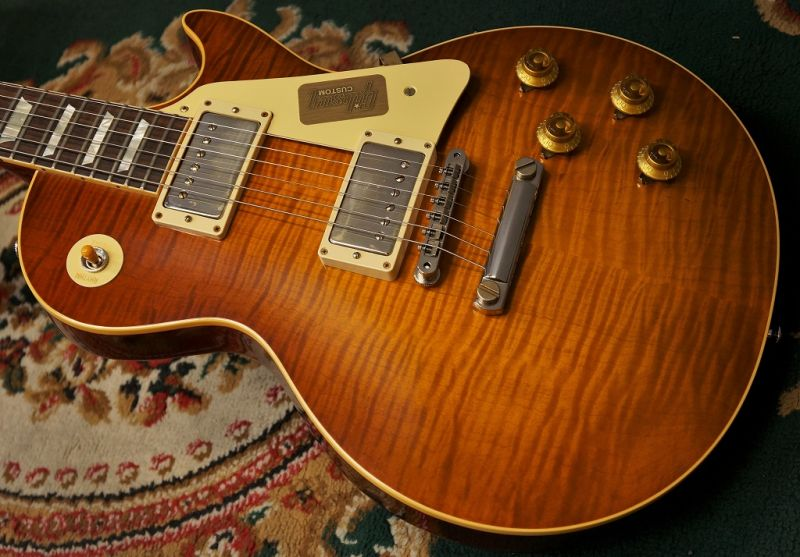〔新品〕Gibson〈ギブソン〉 Custom Shop True Historic 1959 Les Paul Reissue
