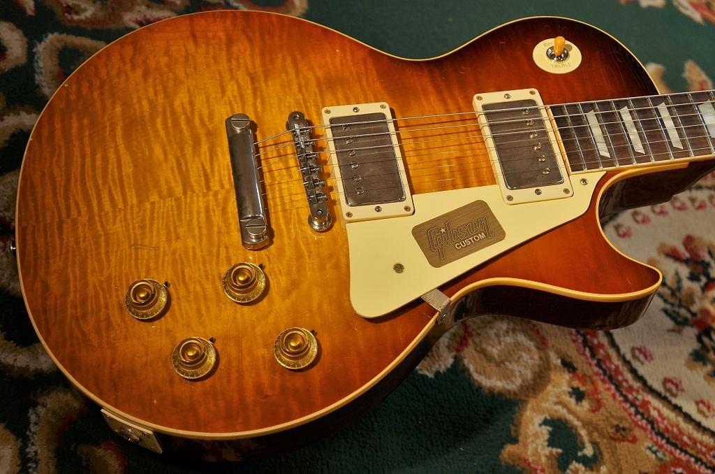 〔新品〕Gibson〈ギブソン〉 Custom Shop True Historic 1959 Les Paul Reissue Hand Selected Top Murphy AgedKentucky Bourbon Fade(#96585) [現地選定材使用][レスポール]【G'CLUB TOKYO】【エレキギター】【送料無料】【smtb-u】
