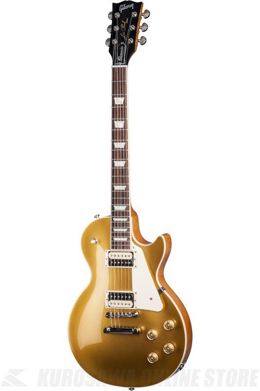 Gibson Les Paul Classic T 2017 (Gold Top) [LPCS17GTNH1] 《エレキギター/レスポール》【送料無料】【ONLINE STORE】