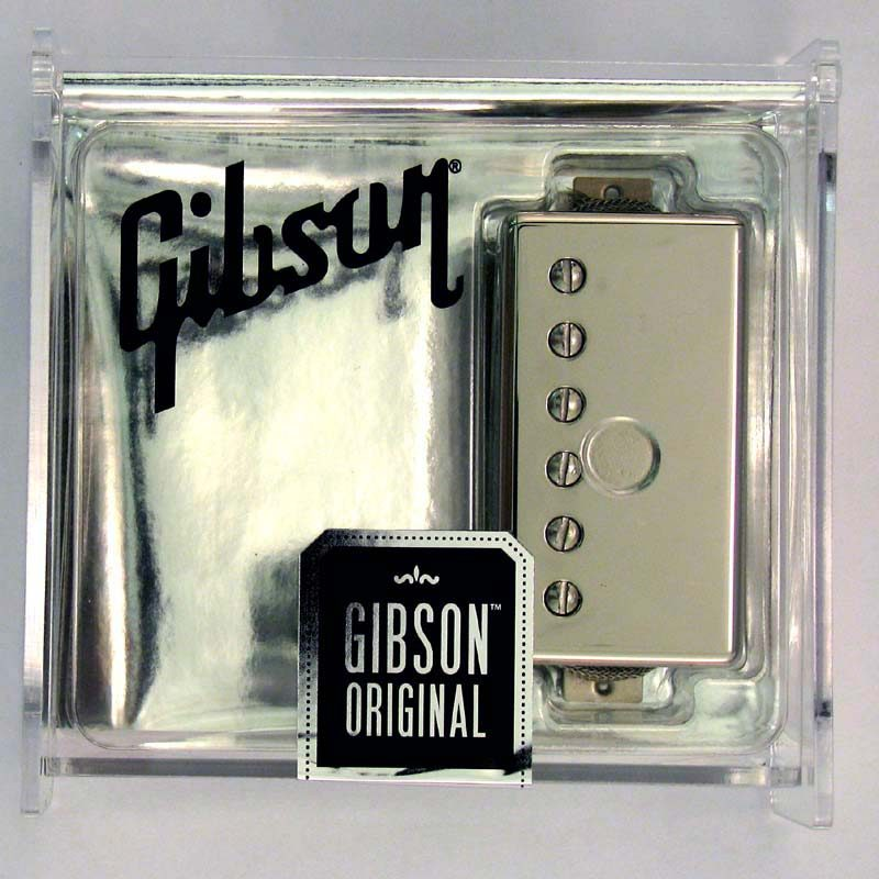 Gibson Gear 57 Classic / Nickel Cover [IM57R-NH] 《パーツ・アクセサリー/ ピックアップ 》【ギブソン純正】【ONLINE STORE】