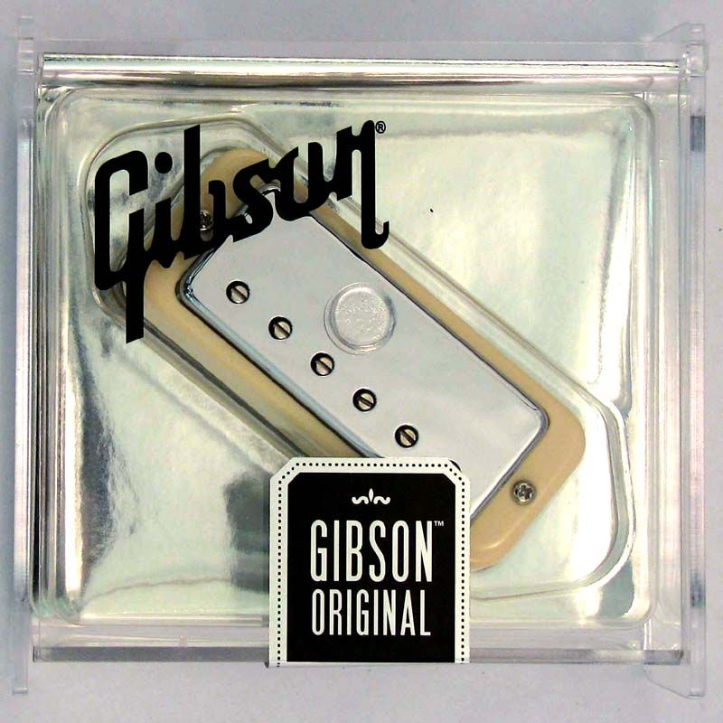 Gibson Gear Original Mini-Humbucker - Chrome Cover / Rhythm [IMMHR-CH] 《パーツ・アクセサリー/ ピックアップ 》【ギブソン純正】【ONLINE STORE】