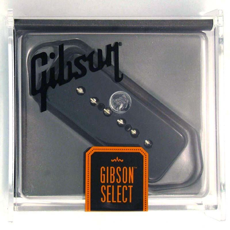 Gibson Gear P-90 Single Coil w/ Black Soapbar Cover [IMP9R-BC] 《パーツ・アクセサリー/ ピックアップ 》【ギブソン純正】【ONLINE STORE】