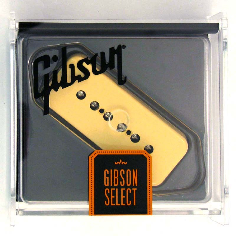 Gibson Gear P-90 Single Coil w/ Creme Soapbar Cover [IMP9R-CC] 《パーツ・アクセサリー/ ピックアップ 》【ギブソン純正】【ONLINE STORE】
