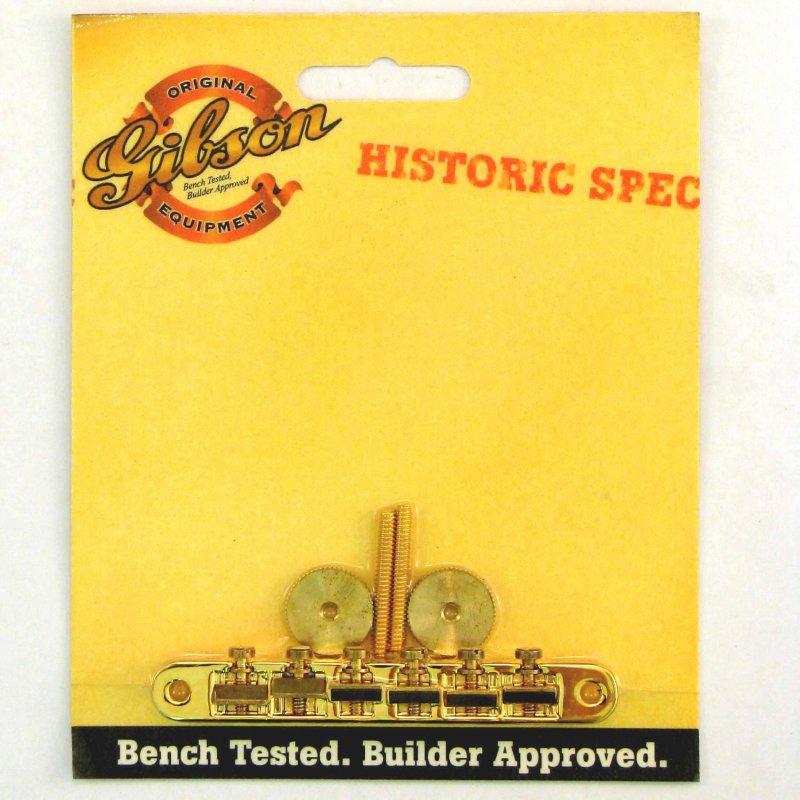 Gibson Gear Historic Non-wire ABR-1 Bridge - GOLD [PBBR-065] 《パーツ・アクセサリー/ ブリッジ 》【ギブソン純正】【ONLINE STORE】