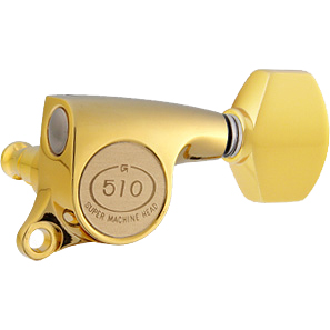 Gotoh / ゴトー SG510 Series for Standard Post SGS510 (Gold / A07) [対応ヘッド: L6/R6/L3+R3] 《ギターペグ6個set》 【送料無料】【ONLINE STORE】