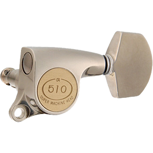 Gotoh / ゴトー SG510 Series for Standard Post SGS510Z (X Nickel / A01) [対応ヘッド: L3+R3 ] 《ギターペグ6個set》 【送料無料】【ONLINE STORE】