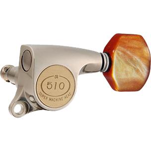 Gotoh / ゴトー SG510 Series for Standard Post SGS510Z (X Nickel / P8) [対応ヘッド: L6/R6/L3+R3] 《ギターペグ6個set》 【送料無料】【ONLINE STORE】