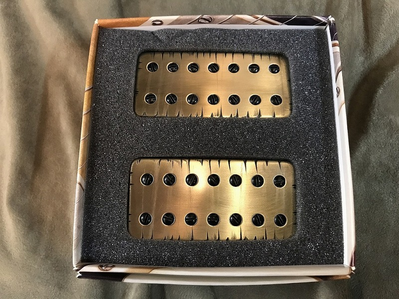 Bare Knuckle Pickups Aftermath 7 String Set -TIGER- 【7弦用ハムバッカーセット】【ショッピングクレジット無金利】【G-CLUB 渋谷店】