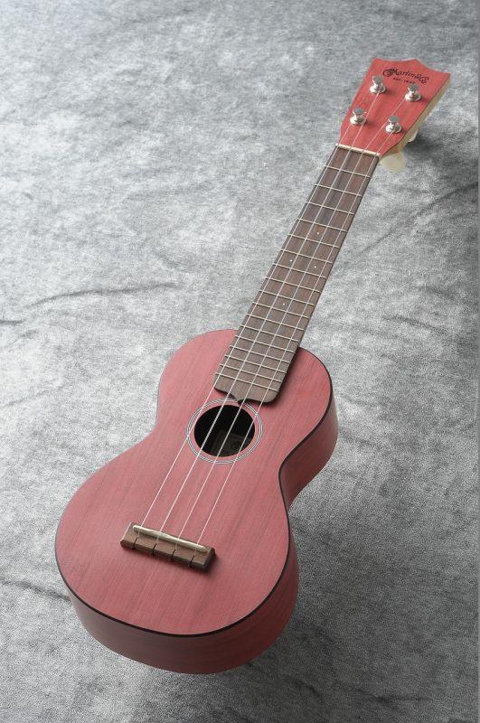 Martin OX Uke Bamboo Red #5243 【新品】 【日本総本店ウクレレフロア在庫品】
