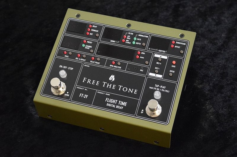 Free The Tone FLIGHT TIME FT-2Y【NEW】【日本総本店ベースセンター在庫品】