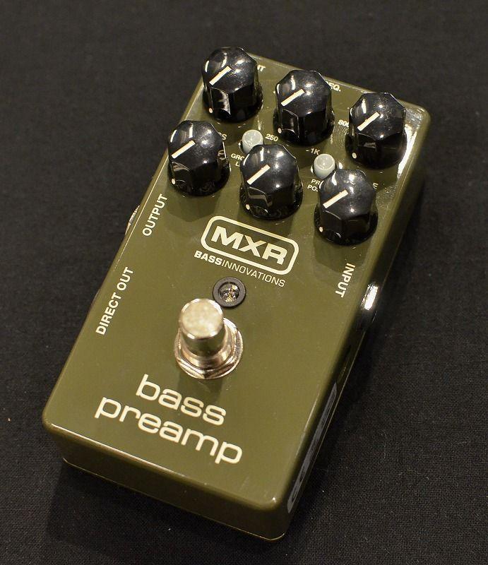 MXR M81 Bass Preamp 【NEW】【日本総本店ベースセンター在庫品】
