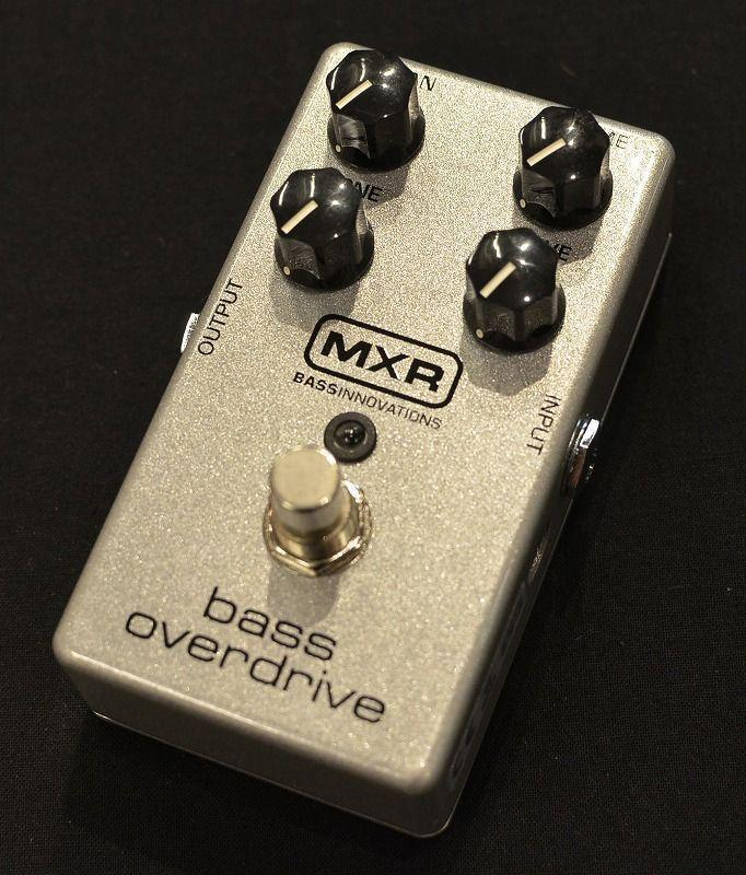 MXR M89 Bass Overdrive 【NEW】【日本総本店ベースセンター在庫品】