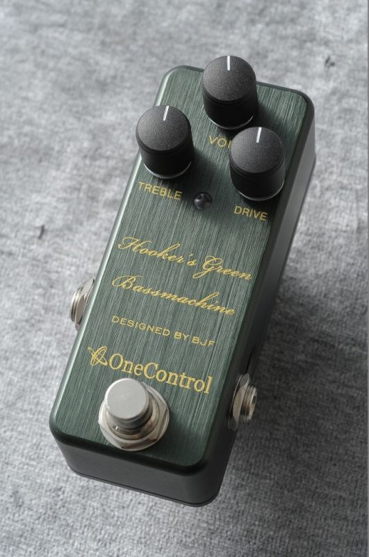 ONE CONTROL Hooker's Green Bass Machine【NEW】【日本総本店ベースセンター在庫品】