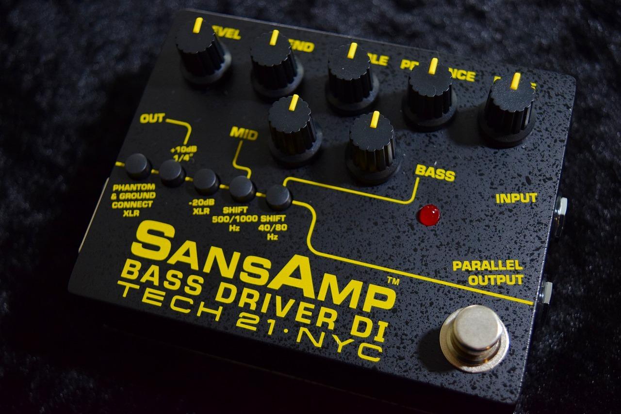 Tech 21 SANSAMP BASS DRIVER DI Ver.2【日本総本店ベースセンター在庫品】