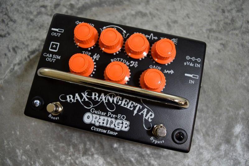 ORANGE Bax Bangeetar GuitarPre-EQ Black 【NEW】【日本総本店ベースセンター在庫品】