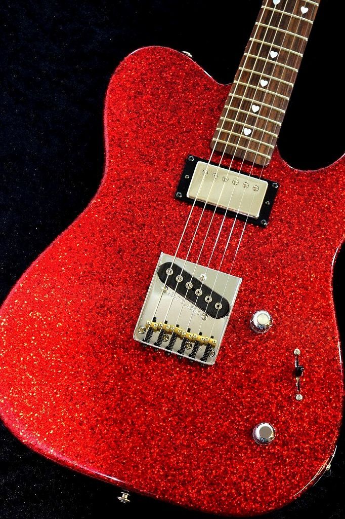 G&L USA Chay Model -Red Metal Flake/Rosewood-【NEW】【本店ベースセンター在庫品】