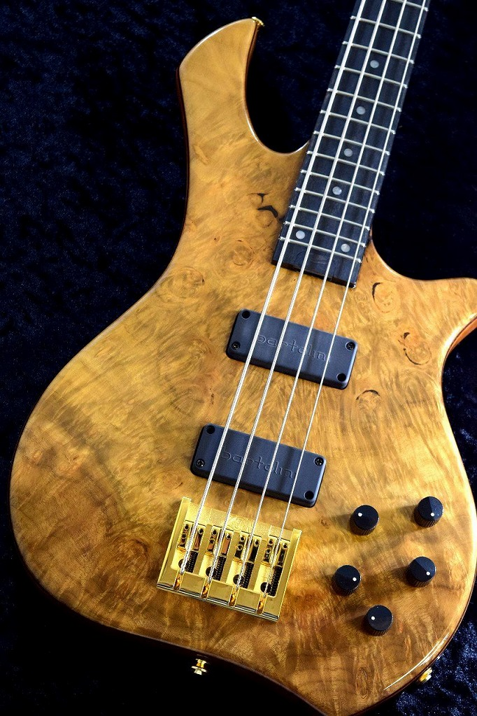 Zon Legacy Elite 4 Gallery Burl Myrtlewood Top -Natural Gloss- 【NEW】【日本総本店ベースセンター在庫品】