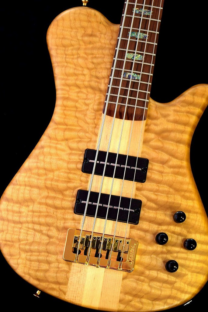 Spector USA NS5XL SC 5A Quilted Maple,Water Cured NY Water Tank Redwood/Pau Ferro -Natural Mat-【NEW】【日本総本店ベースセンター在庫品】