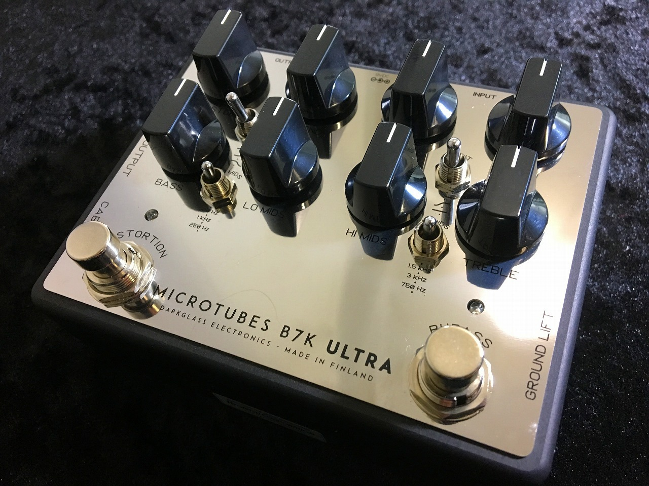 Darkglass Electronics Electronics Microtubes B7K ULTRA Microtubes V2 V2 Mirror Limited Edition【NEW】 ※限定モデル!!【日本総本店ベースセンター在庫品】, エンデュランス:76fbc6a3 --- jpworks.be