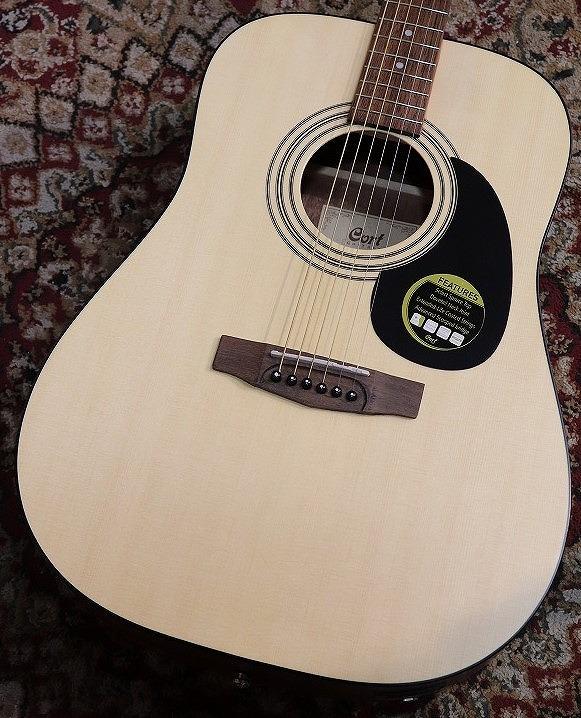 Cort 【入門用アコースティックギター】【弾きやすい調整】AD810E【エレアコ】【送料無料】【池袋店在庫品】