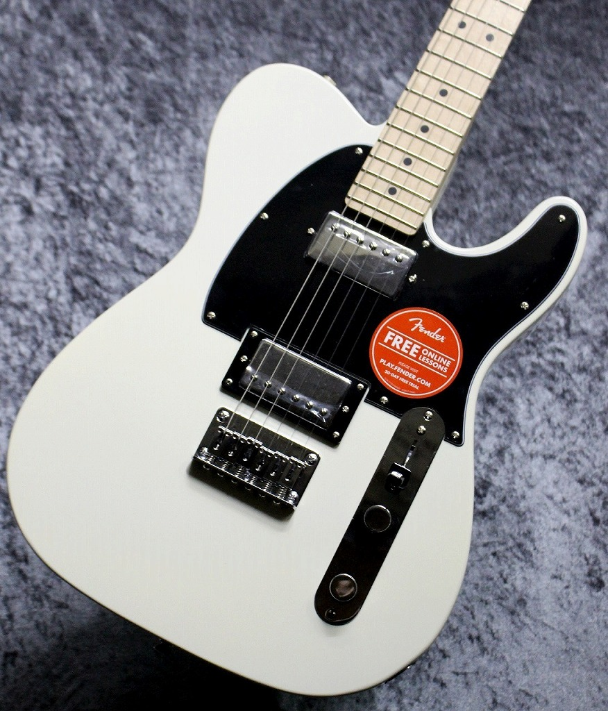 Squier by Fender Contemporary Telecaster HH Pearl White【池袋店在庫品】