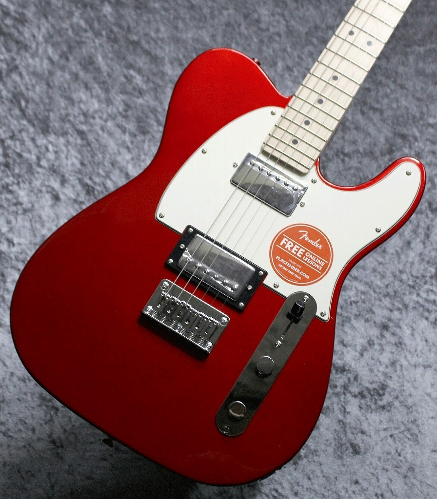 Squier by Fender Contemporary Telecaster HH Dark Metallic Red【担当一押し!】【池袋店取り扱い品】