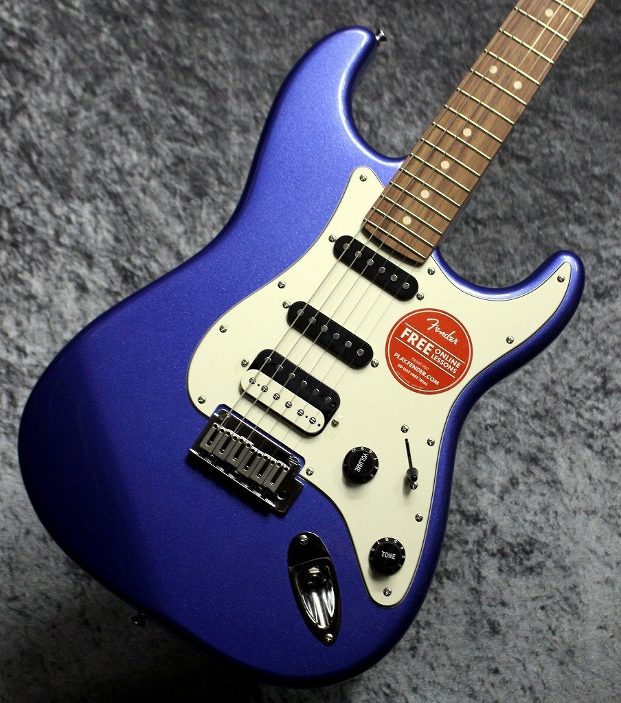Squier by Fender Contemporary Stratocaster HSS Ocean Blue Metallic【池袋店在庫品】
