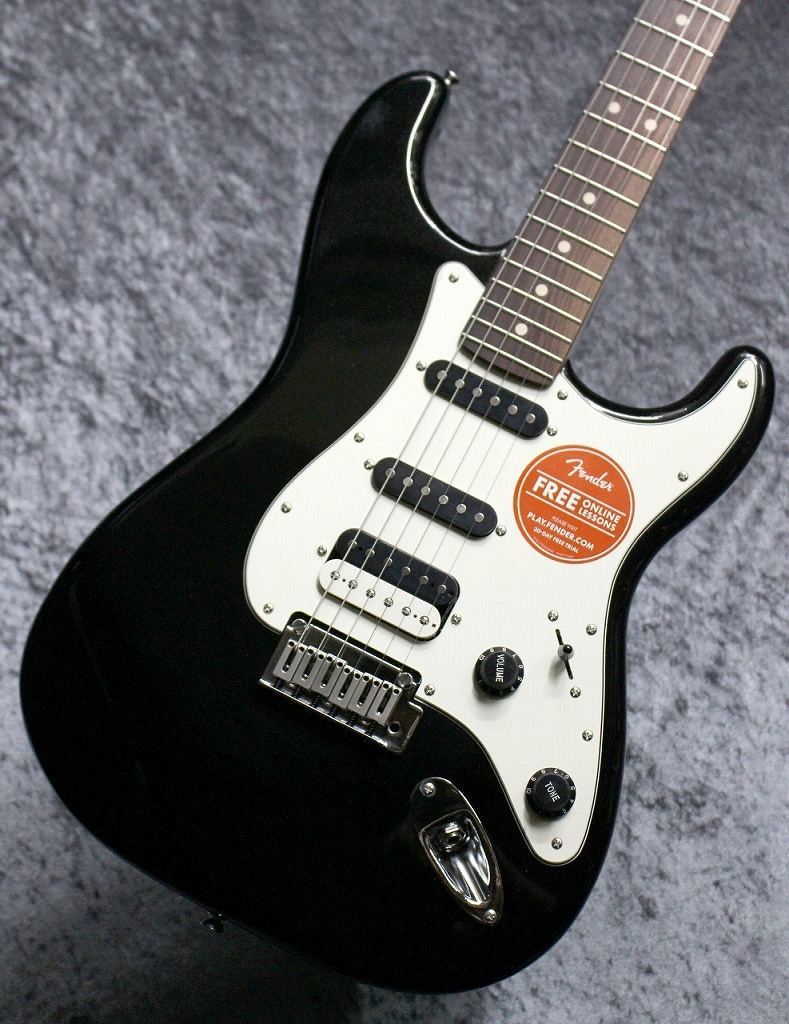 Squier by Fender Contemporary Stratocaster HSS Black Metallic【池袋店在庫品】