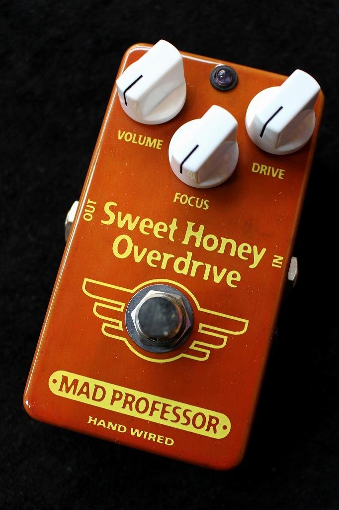 MAD PROFESSOR Sweet Honey Overdrive Hand Wired 【即納可能】【送料無料】【王道モデル】【池袋店在庫品】