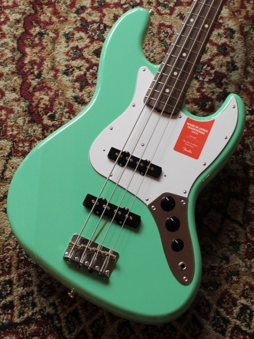 Fender Traditional 60s Jazz Bass Surf Green【池袋店在庫品】