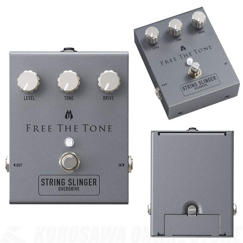Free The Tone SS-1V STRING SLINGER OVERDRIVE 【即納可能】【送料無料】【Black Face系】【池袋店在庫品】