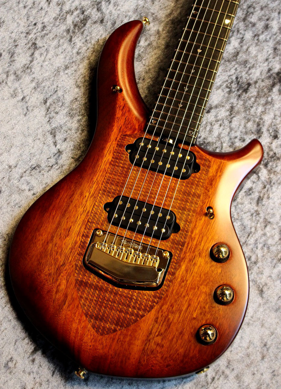 MUSIC MAN 【再入荷!!】Artisan Majesty 7 Marrone #M09329 【超人気カラー】【7弦仕様】【極杢トップ】【池袋店在庫品】
