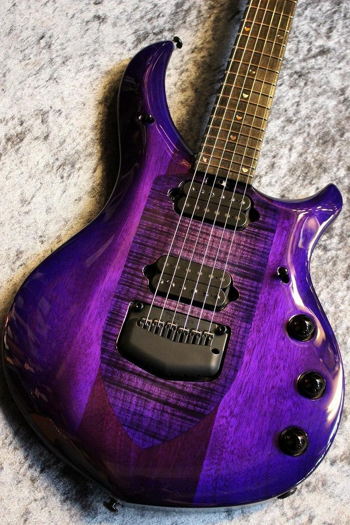 【ファイナルプライスセール】MUSIC MAN Majesty Monarchy 6 Majestic Purple #M09139 【入荷数極少】【極杢トップ】【池袋店在庫品】