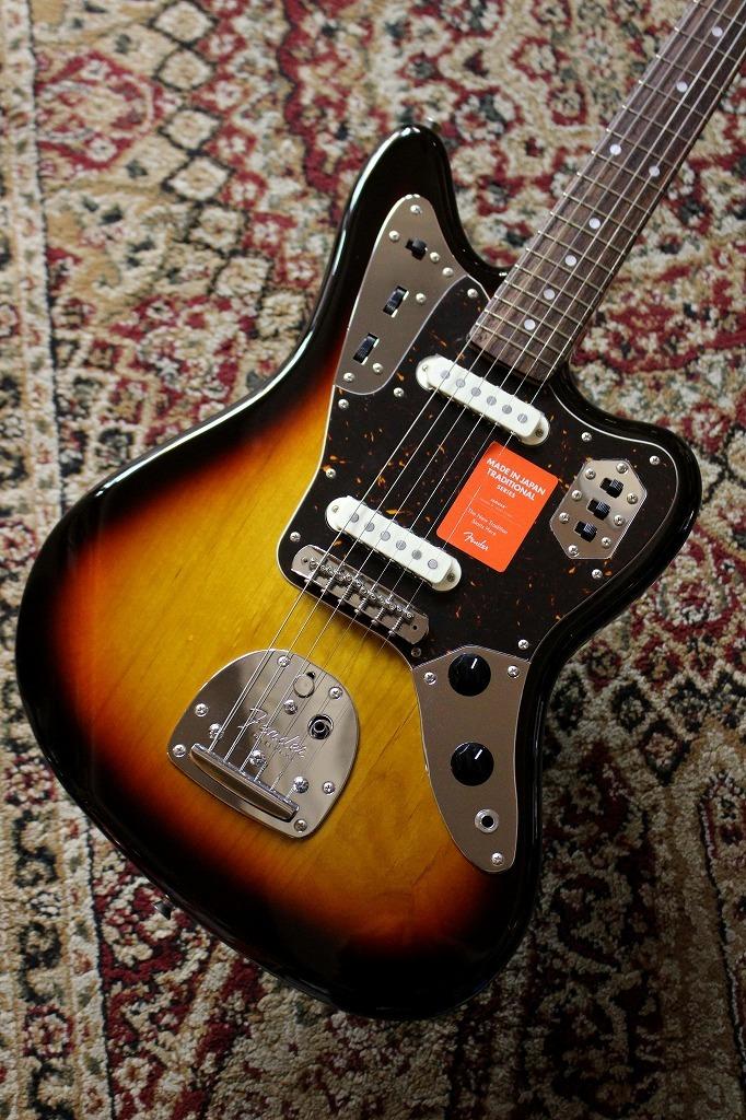 Fender 【アーニーボール弦プレゼント】Made in Japan Traditional 60s Jaguar 3-Color Sunburst【池袋店在庫品】